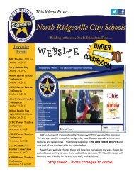 October 12, 2012 - North Ridgeville City Schools