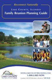 Family Reunion Planning Guide - Lake County Convention ...