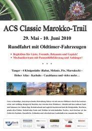 Reiseprogramm ACS Marokko-Trail dp - Sektion beider Basel