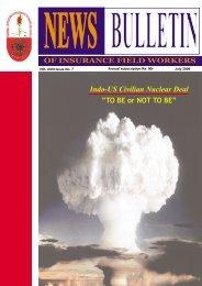 news bulletin - NFIFWI