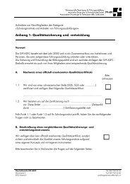 Aufnahmekriterien Mitgliedschulen / PDF - SVF - ASFC ...