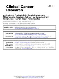 Immortalized Human HaCaT Keratinocytes Mitochondrial Apoptosis ...