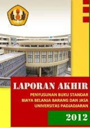 laporan akhir buku standar bbj 2012 - Procurement - Universitas ...