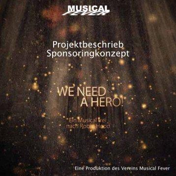 Projektbeschrieb / Medienkonzept - Musical Fever
