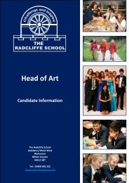 Head of Art April 2014 - candidate information