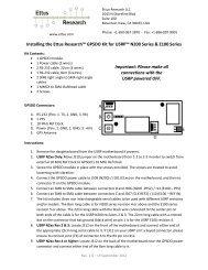 USRP N210 Datasheet - Ettus Research
