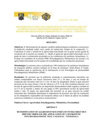 Vol 4, N° 2, Año 2000 - Portal de Revistas Electrónicas-Universidad ...