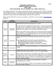 Riverside Calendar - Riverside County Registrar of Voters