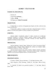 AL0020 - CÁLCULO III - UNIPAMPA Cursos