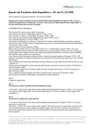 Decreto del Presidente della Repubblica n. 551 ... - Infobuild energia