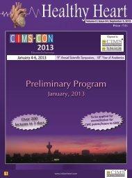 Healthy Heart (Vol-3, Issue-34) September, 2012 ... - CIMS Hospital