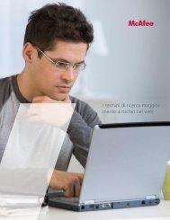 I termini di ricerca maggior- mente a rischio nel web - McAfee
