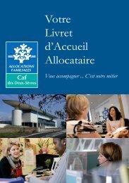 Téléchargez livret d'accueil allocataire - Caf.fr