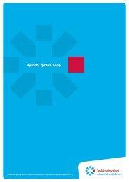 Výroční zpráva 2009 - Česká průmyslová zdravotní pojišťovna