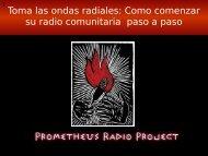Radio comunitaria - Prometheus Radio Project