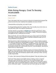 Hartford Courant - Children's HealthWatch