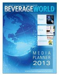 MEDIA PLANNER - Beverage World Magazine