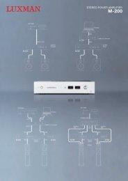 Brochure Luxman M 200 - XFAudio