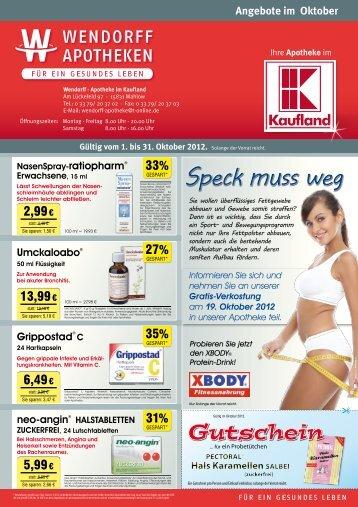 (0 33 79) 20 37 04 Lieferservice W-express. - Wendorff Apotheken