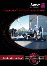 Copperhead® XD™ 2.0 Laser Screed® - Somero Enterprises