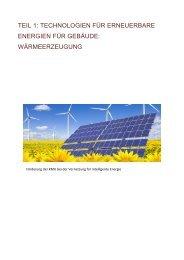 UNIT 1: RENEWABLE ENERGY TECHNOLOGIES FOR BUILDINGS