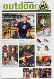 Outdoor Magazine USA - May/June 2009 - Wenger