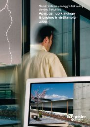 """""""Apsauga nuo klaidingo išjungimo ir višįtampių ... - Schneider Electric"""