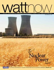 download a PDF of the full January 2013 issue - Watt Now Magazine