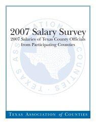 2007 Salary Survey - Texas Association of Counties