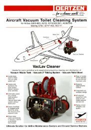VacLav1 Aircraft vacuum toilet cleaning system - von Oertzen GmbH ...