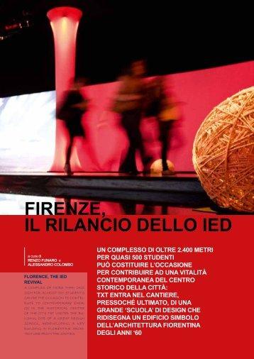 44-Firenze il rilancio dello IED.pdf - TXTmagazine