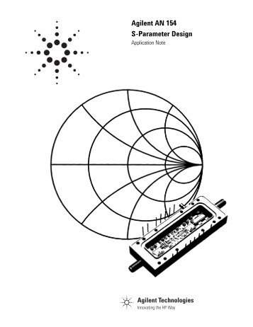 Selected Reprints on S-Parameters... circuit analysis and