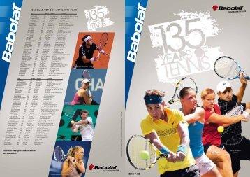 2010 / GB babolat toP 200 atP & Wta team *