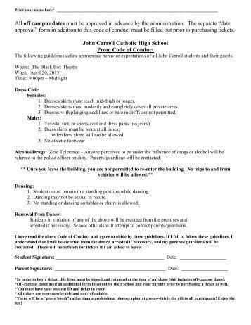 Prom Papers.pdf - John Carroll Catholic High School
