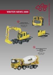 Winter Neuheiten 2009.indd - NZG-Modelle GmbH