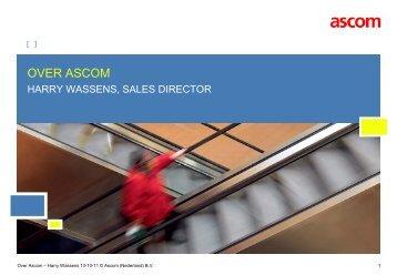 PRESENTATION TITLE - Ascom