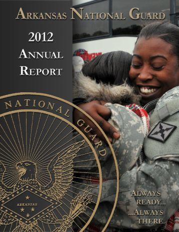 AnnuAl reporT - Arkansas National Guard