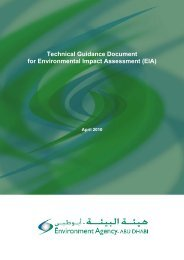 Technical Guidance Document for Environmental Impact ...