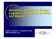 Houstons Overview 1 12 09.pdf - Texas On The Go