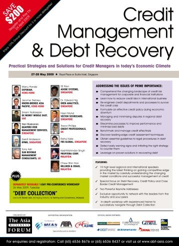Practical strategies and solutions for credit managers