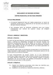 REGLAMENTO CENTRO DE DIA MENORES - Ayuntamiento de Adeje