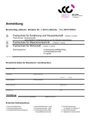 Anmeldung - Berufskolleg Lübbecke