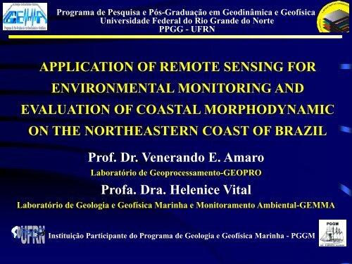 Application of Remote Sensing for Environmental ... - INPE-DGI