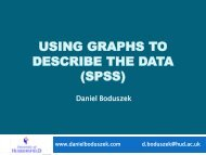 An Introduction to SPSS 19