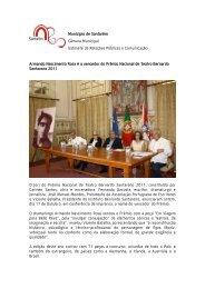 Armando Nascimento Rosa é o vencedor do Prémio Nacional de ...
