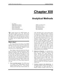 13 Analytical Methods - United States Renal Data System
