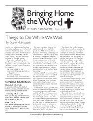 October 2013 - Franciscan Media
