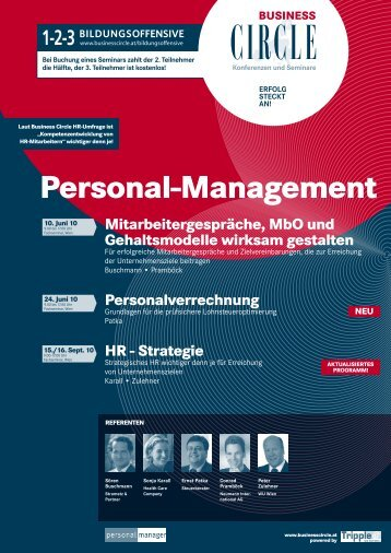 Personal-Management - Zulehner - Consulting, Vorträge, Coaching ...