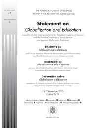 Statement on Globalization and Education - Home page of the ...
