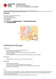 Kontakt Anfahrtsbeschreibungen - DRK-Schul